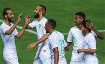 هدفا السعودية في الجزائر