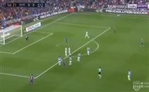 هدف رائع من كوتينيو فى مرمى ريال سوسيداد