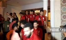 كواليس وصول منتخب مصر للكويت