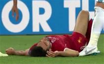 إصابة محمد صلاح أمام ريال مدريد
