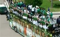 حافلة خاصة لمنتخب الجزائر قبل الإحتفال باللقب