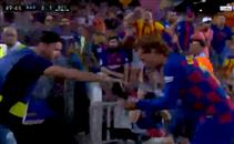 احتفال غريب من جريزمان أمام ريال بيتيس