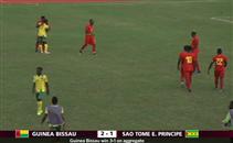 أهداف مباراة غينيا بيساو وساو تومي وبرينسيبي
