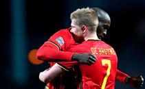أهداف مباراة بلجيكا والدنمارك