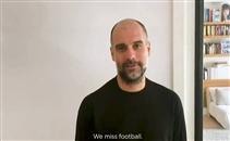 رسالة مؤثرة من جوارديولا لعشاق كرة القدم