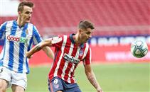 هدفا مباراة اتلتيكو مدريد وريال سوسيداد