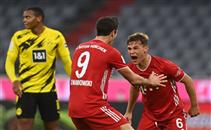 أهداف مباراة بروسيا دورتموند وبايرن ميونيخ