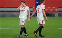 هدفا اشبيلية أمام برشلونة