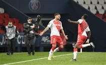 هدفا موناكو أمام ب.س.جيرمان