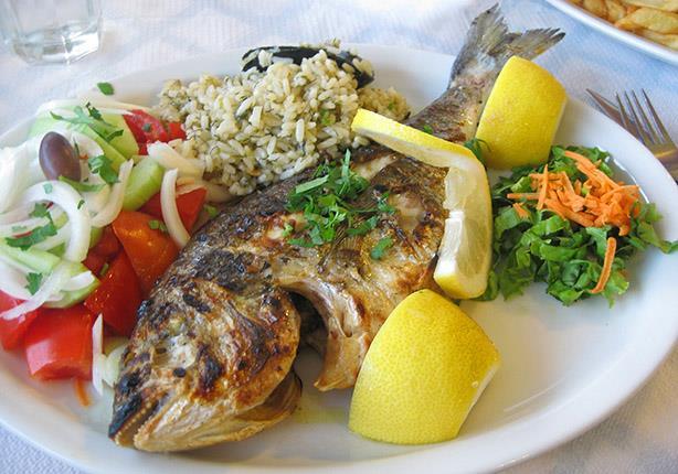 وجبة سمك