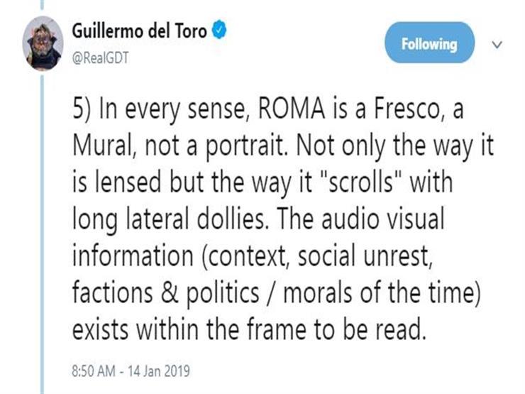 10 أسباب تجعل روما أفضل أفلام جويرمو ديل تورو (4)