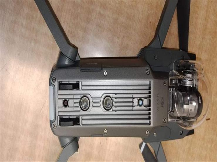 ضبط طائرة تجسس بمطار برج العرب (2)