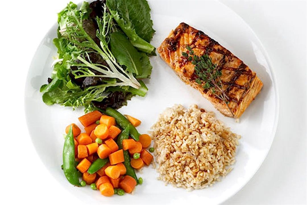 البروتين والألياف