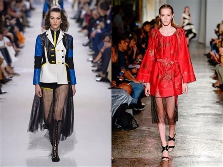 Transparent Mesh Skirts 1