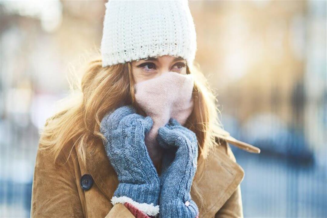 تورم الأصابع في الشتاء                                                                            تورم الأصابع في الشتاء