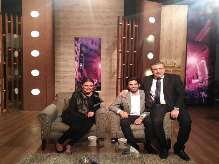 الليلة.. حمدي الميرغني وزوجته ضيفا عمرو الليثي على