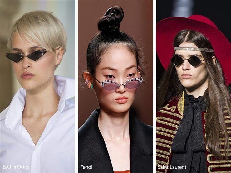 نظارات بعدسات صغيرة