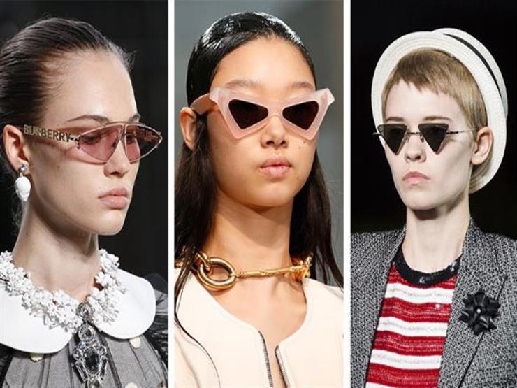 النظارات ذات العدسات المثلثة