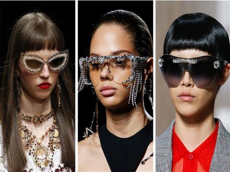 النظارات المنقوشة