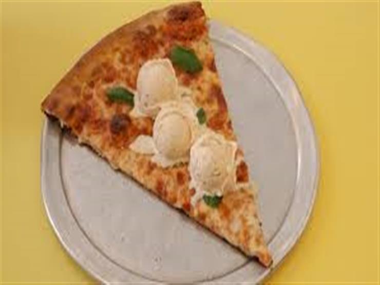 بيتزا الايس كريم