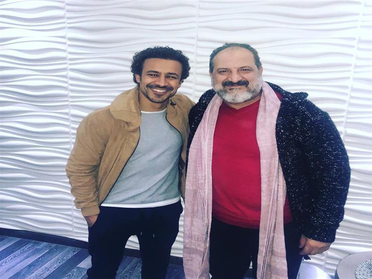 الفنان خالد الصاوي وأحمد داوود