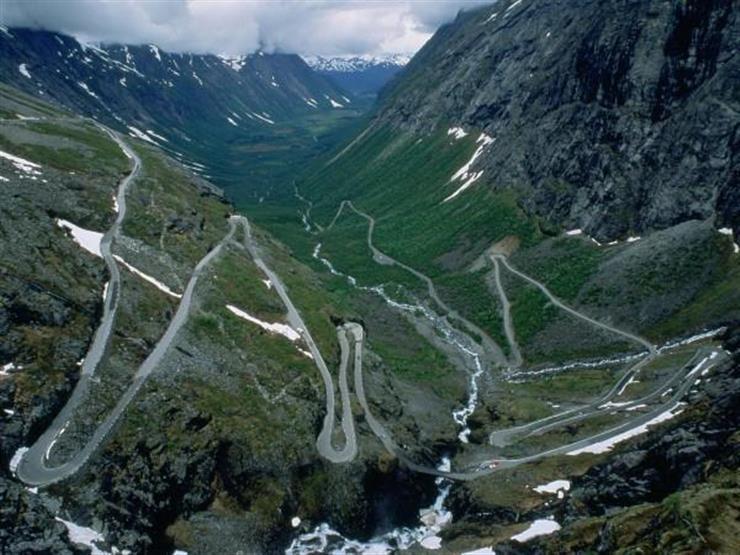 طريق ترولستيجن، النرويج