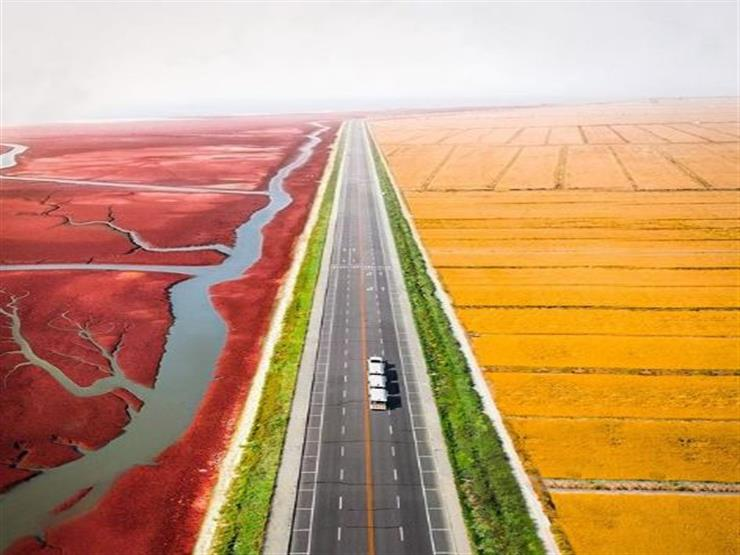 الطريق إلى شاطئ الأحمر، الصين
