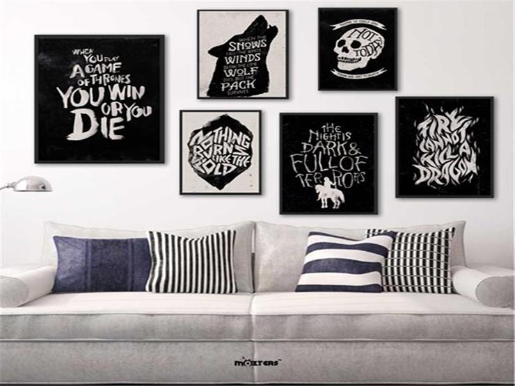 لوحات الجدران