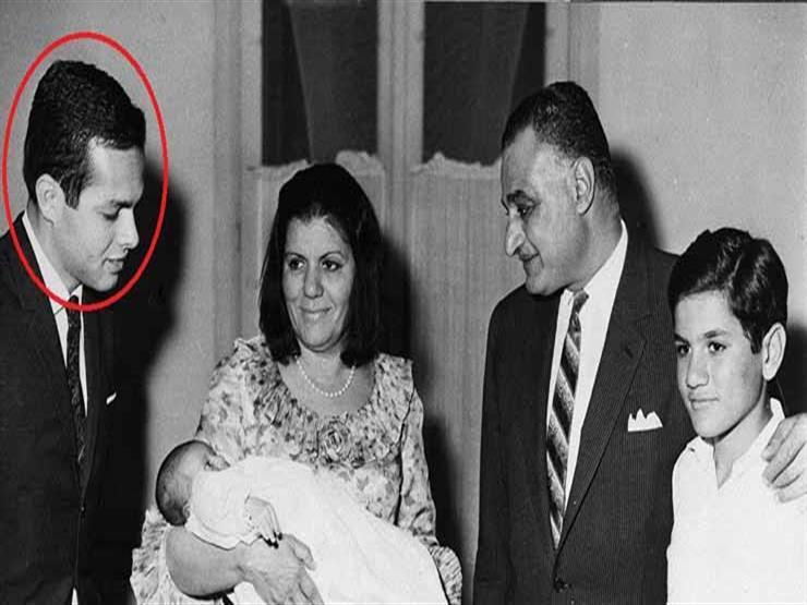 أشرف مروان والرئيس جمال عبد الناصر