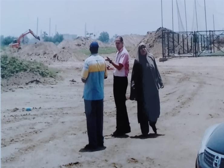 تدمير ملاعب مركز شباب قرية دهتورة (4)