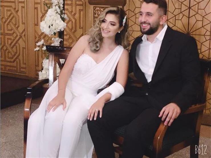 ابنة طارق فؤاد وعريسها