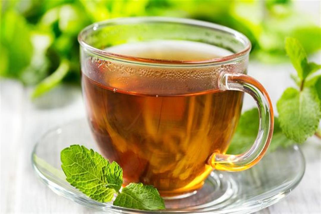 الشاي بالنعناع