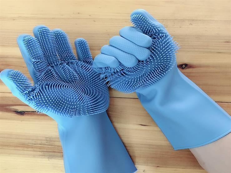 kitchen-rubber-gloves-for-cleaning-dish-washing