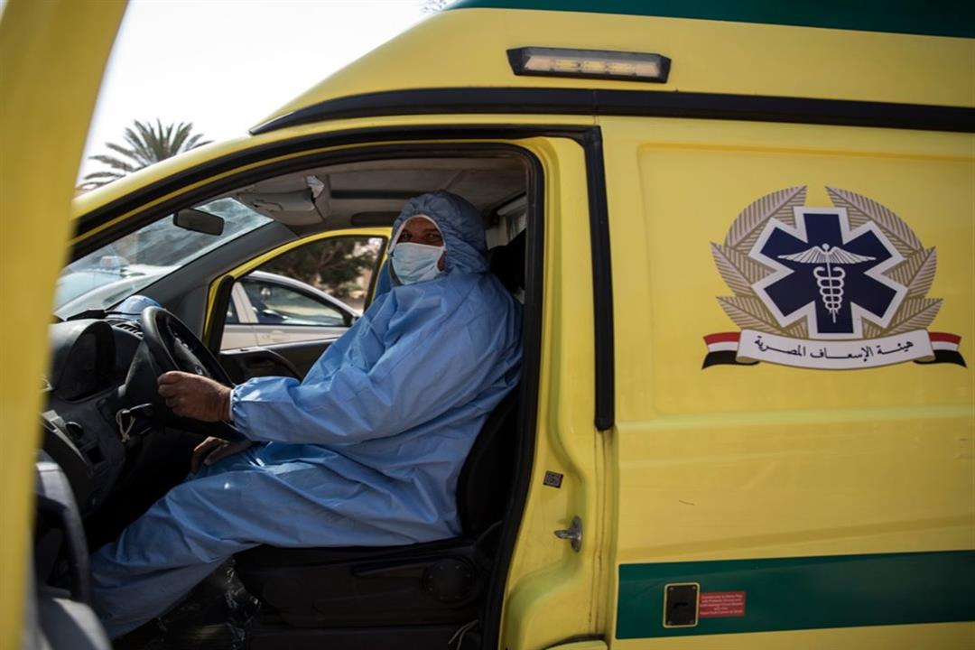 نقل المريض إلى مستشفى العزل