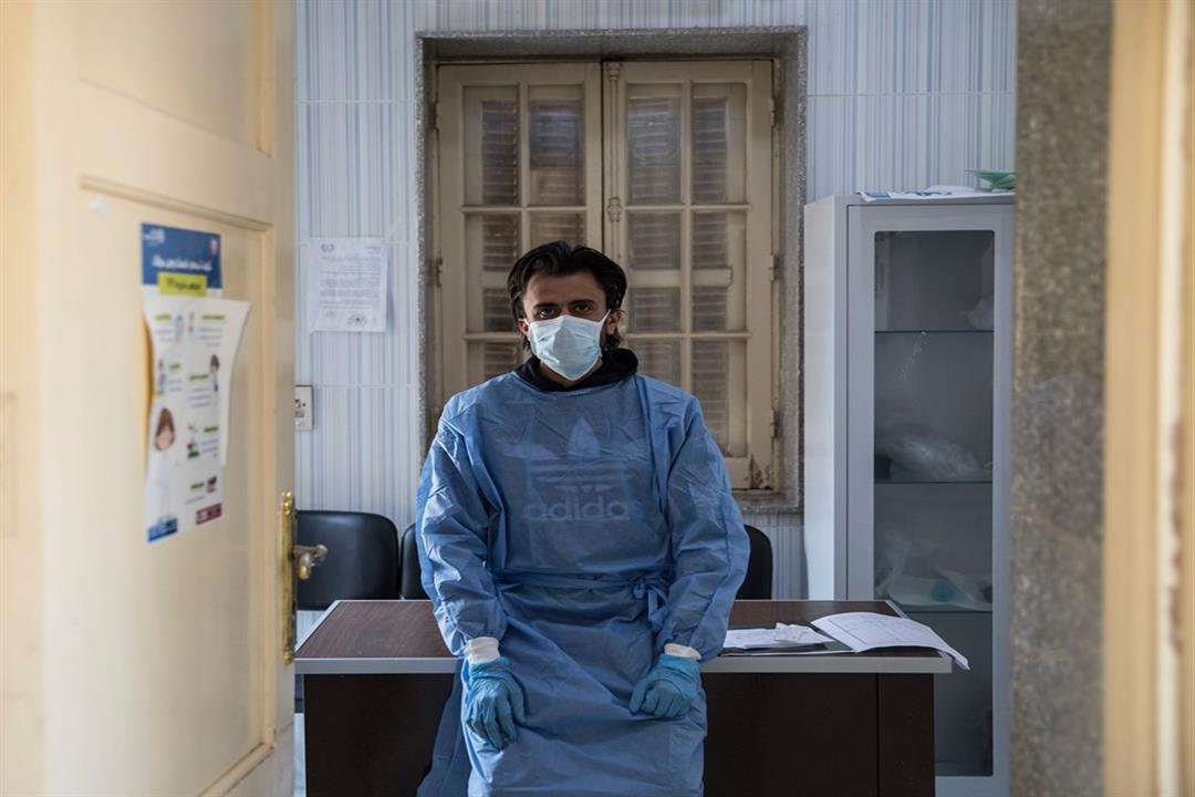 مصطفى حسن أخصائي تمريض