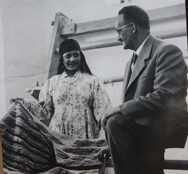 Ramses with Karima Ali- 1962