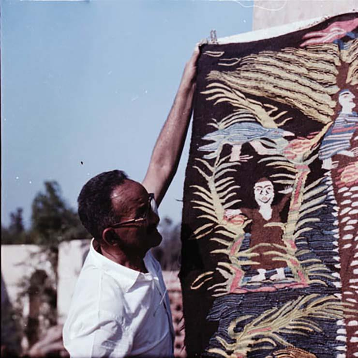1961- Ramses with the weavers (2)