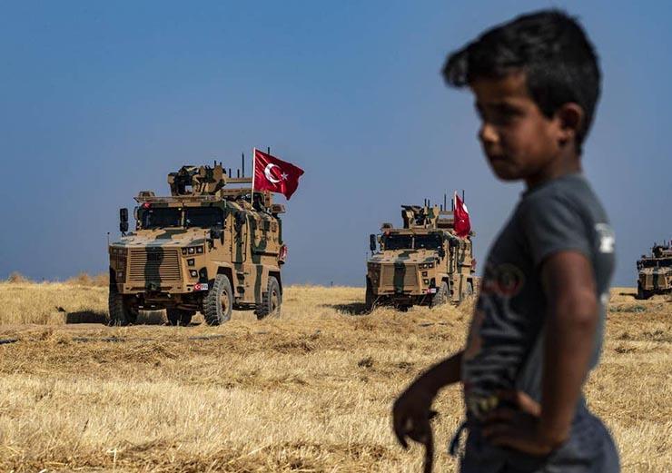 العدوان التركي شمال سوريا (1)