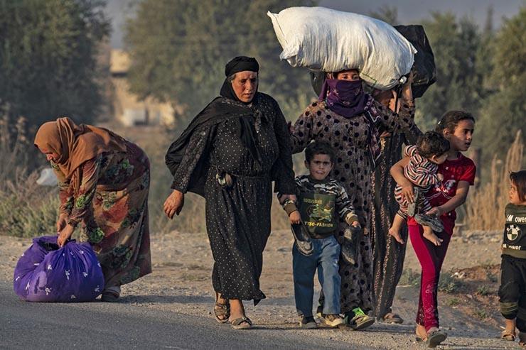 العدوان التركي شمال سوريا (2)