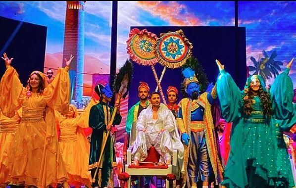 مسرحية علاء الدين لأحمد عز