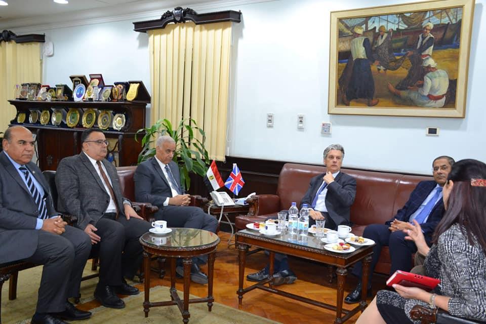 سفير بريطانيا في جامعة الإسكندرية (2)