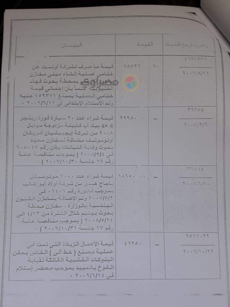 تقرير مخالفات مسئولي مشروع ذبابة الفاكهة (7)