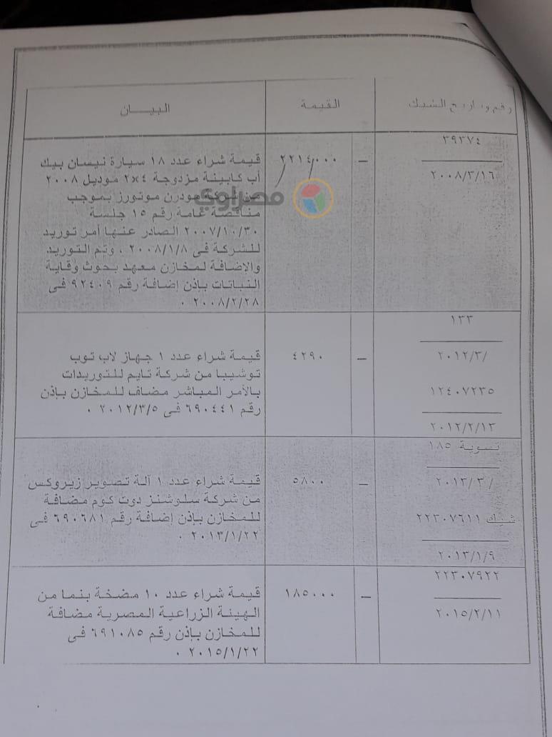 تقرير مخالفات مسئولي مشروع ذبابة الفاكهة (8)