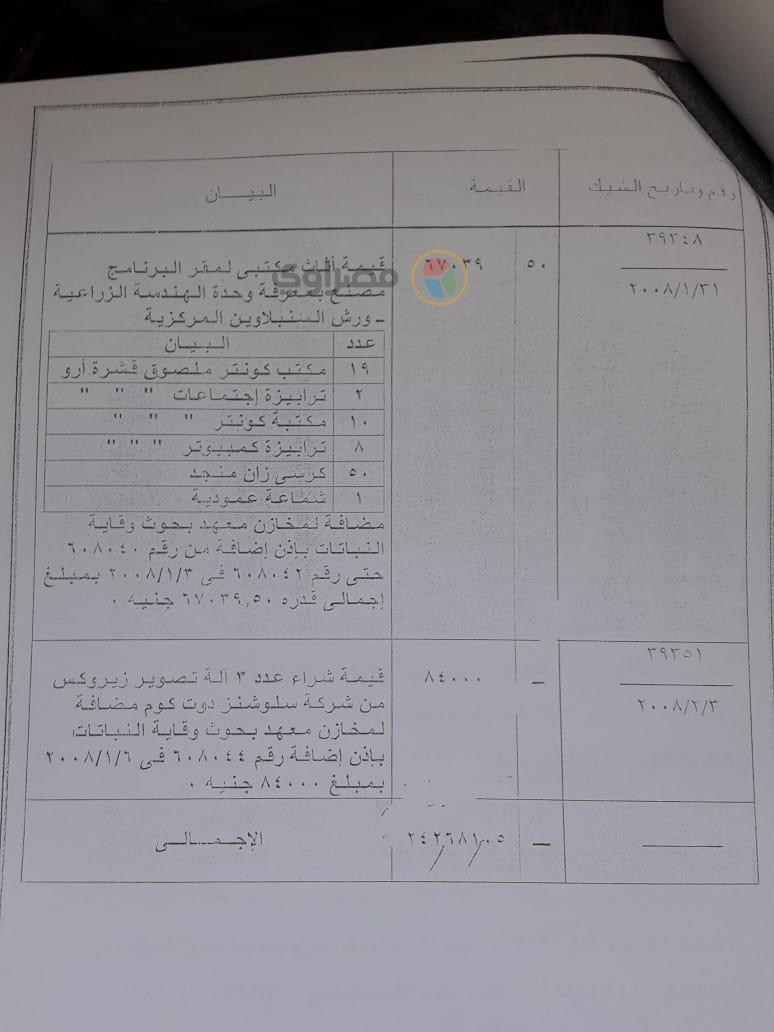 تقرير مخالفات مسئولي مشروع ذبابة الفاكهة (9)