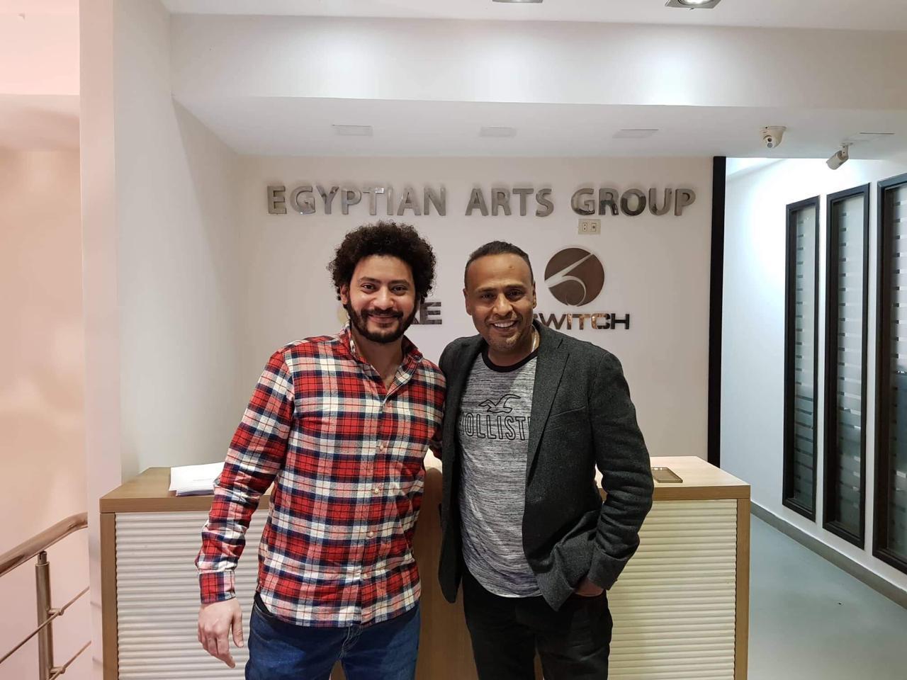 محمود عبدالمغني ومحمد سلامة