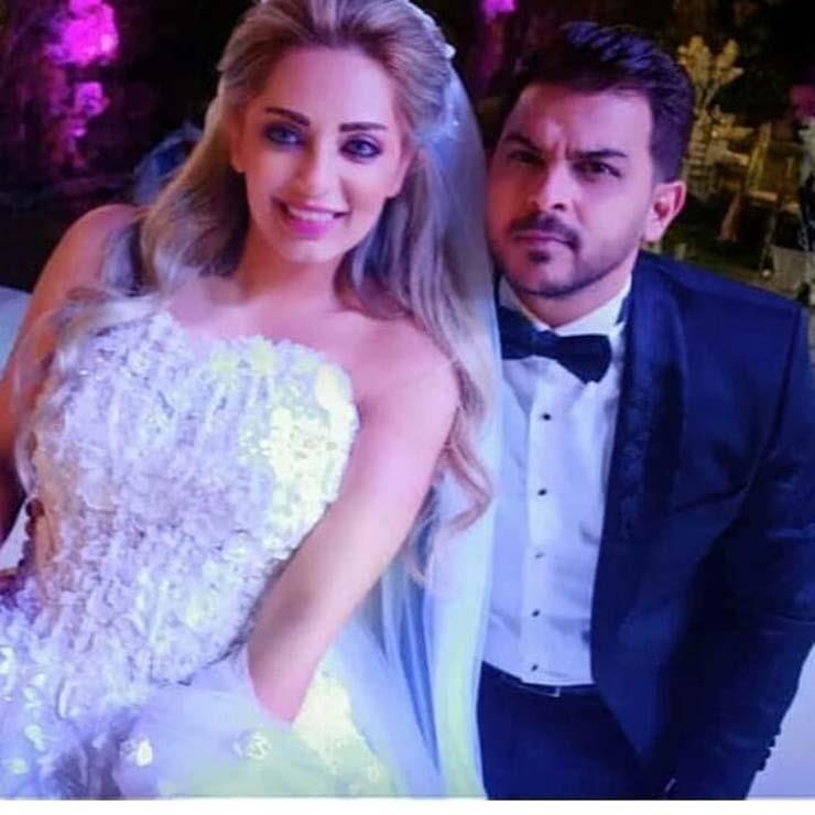 الصور الأولي لحفل زفاف مي حلمي