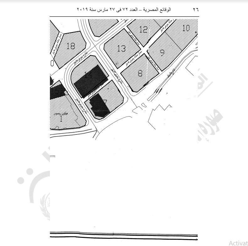 محافظ القاهرة يعتمد مشروع إعادة تخطيط مثلث ماسبيرو 8