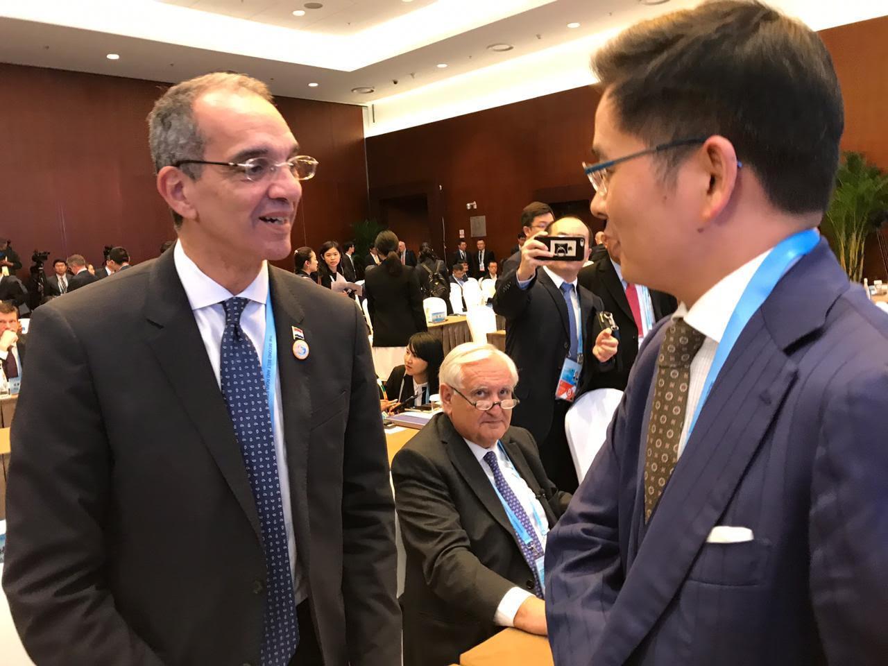 وزير الاتصالات منتدى صيني 2