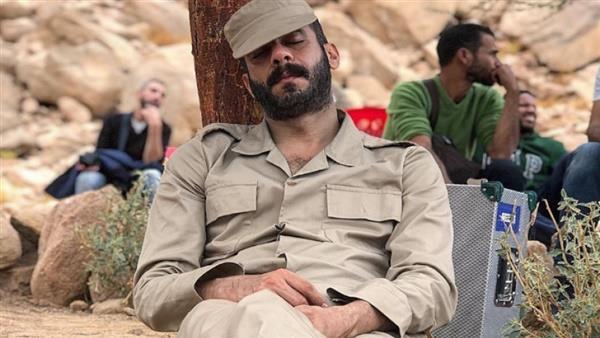 محمد فراج في كواليس فيلم الممر