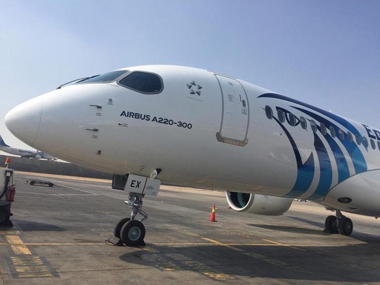 طائرة مصر للطيران الجديدة (3)